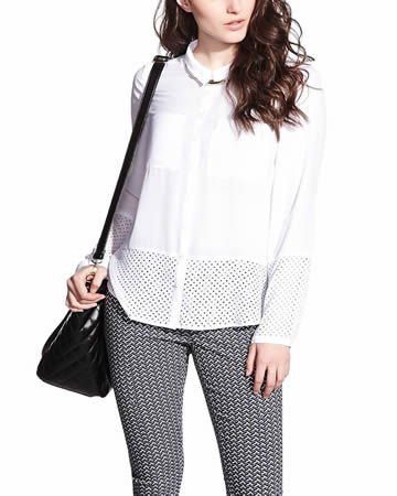 Perforated Shirt