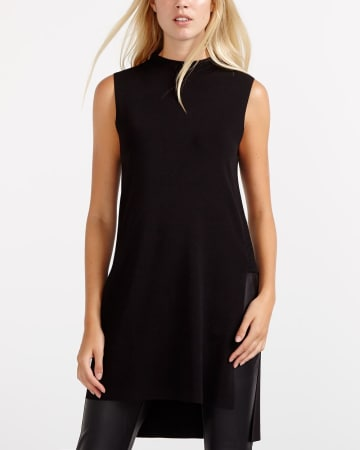 Willow & Thread Sleeveless Tunic Sweater