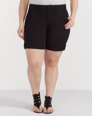 Plus Size Casual Shorts