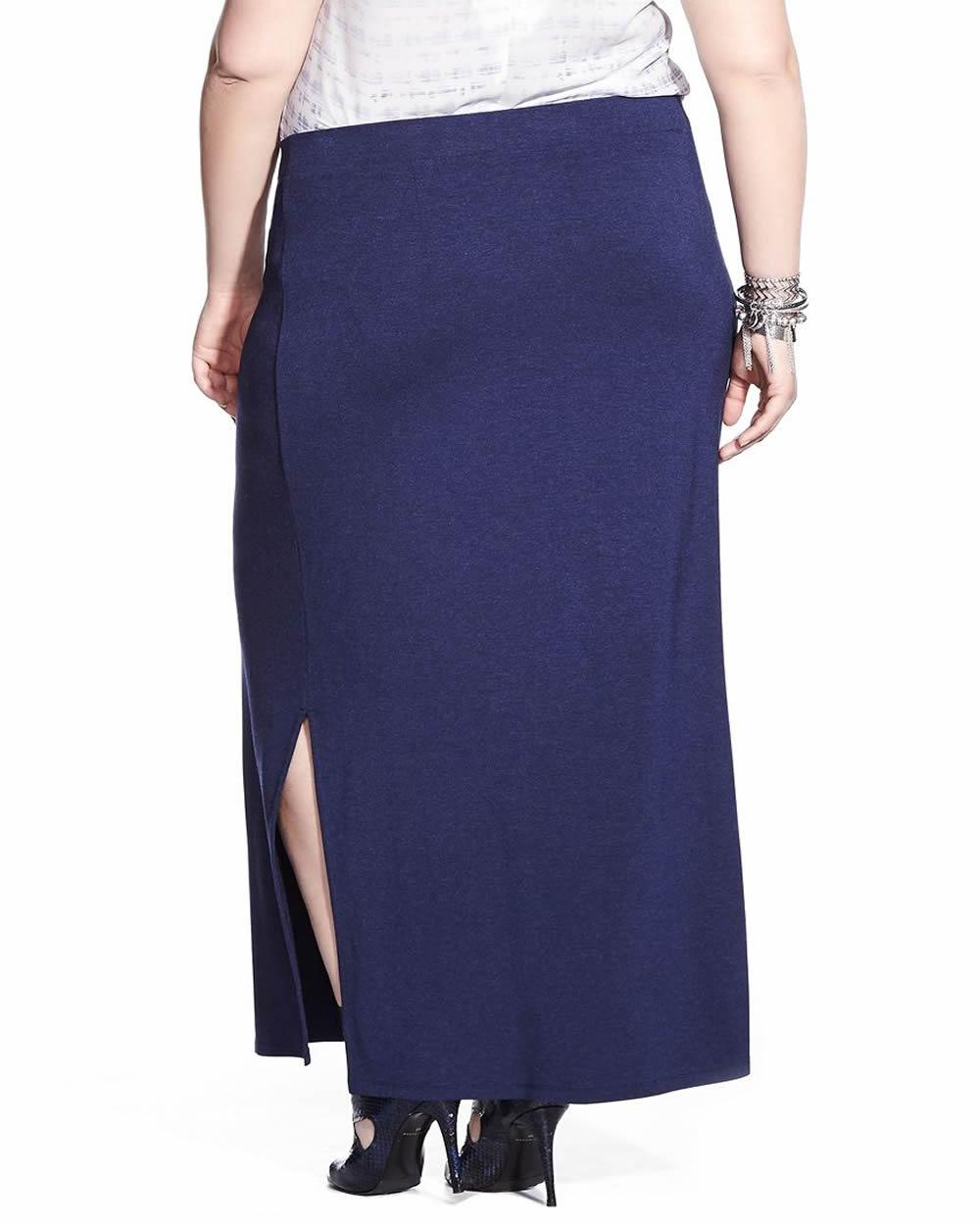 plus size maxi skirt plus sizes reitmans