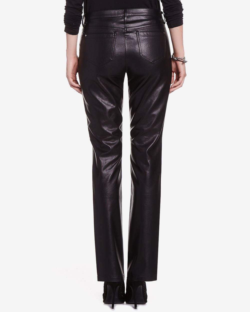 Looking for something new? Shopbop's collection of classic faux leather pants has just what you need. We know you'll find your new go-to look within our selective assortment of faux leather pants.