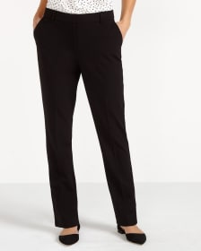 The Petite New Classic High Rise Pants