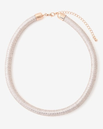 Twisted Lurex Necklace