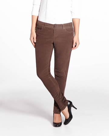 Tall Slim Leg Corduroy Pants