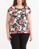 Plus Size Printed T-Shirt