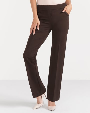 The Ultra Petite Modern Stretch Boot Cut Pants