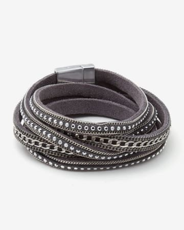 Wrap Around Leather Bracelet