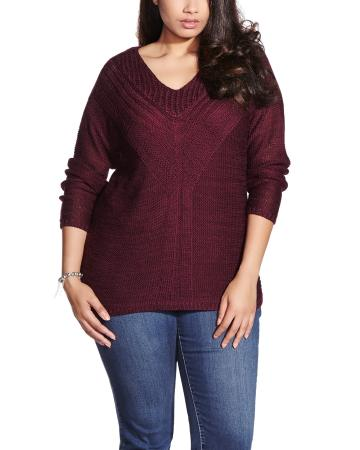 Plus Size Long Sleeve Sweater