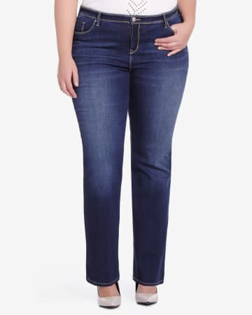 Plus Size Only Denim Boot Cut Jeans