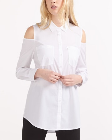 Cold Shoulder Shirt