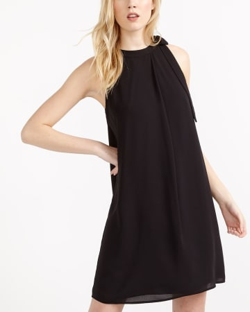 Willow & Thread Chiffon Bow Dress