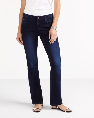 Petites Signature Soft Boot Cut Jeans