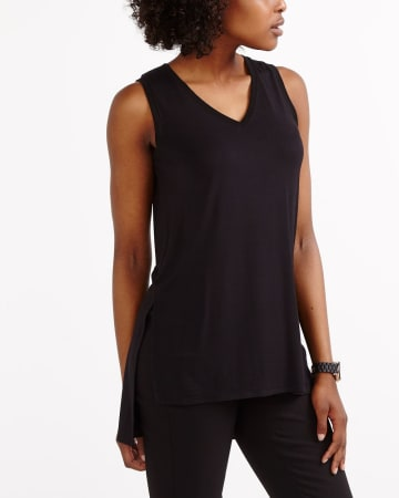 Sleeveless Asymmetric Cami