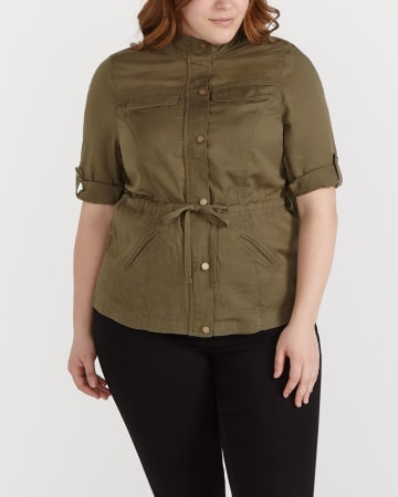 Plus Size Casual Jacket