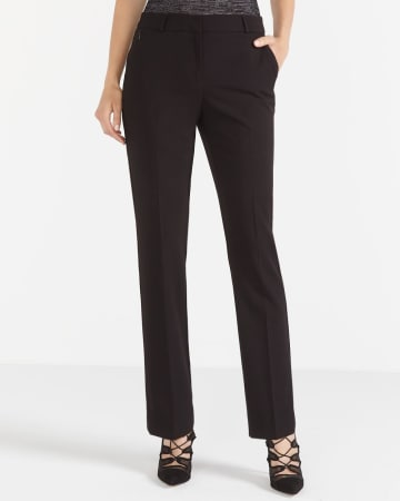 The Petite New Classic Straight Leg Pants