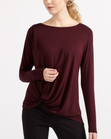 Willow & Thread T-Shirt with Side Knot