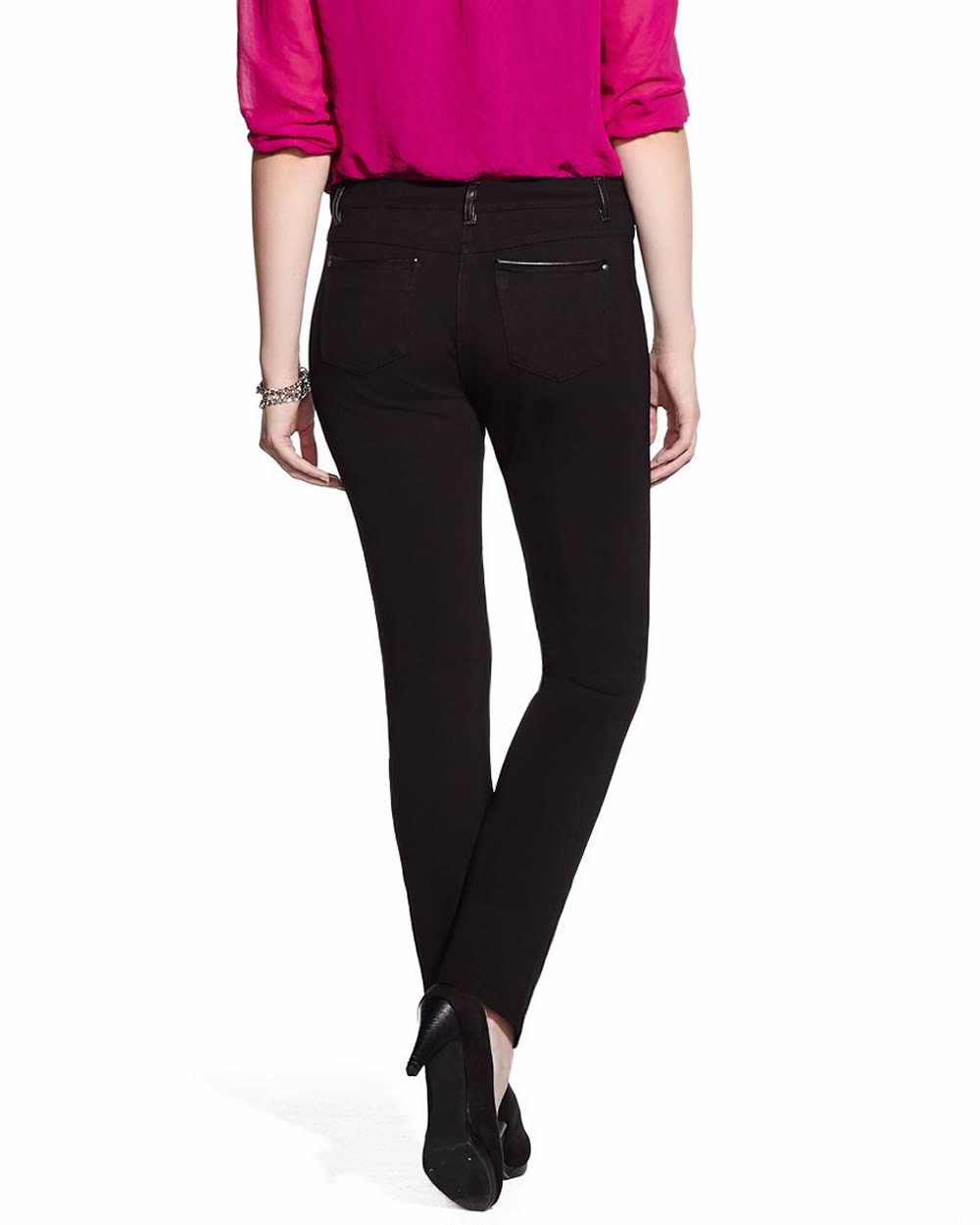 Buy the PETITE Cotton Blend Slim Leg Trousers from Marks and Spencer's r0nd.tk: £