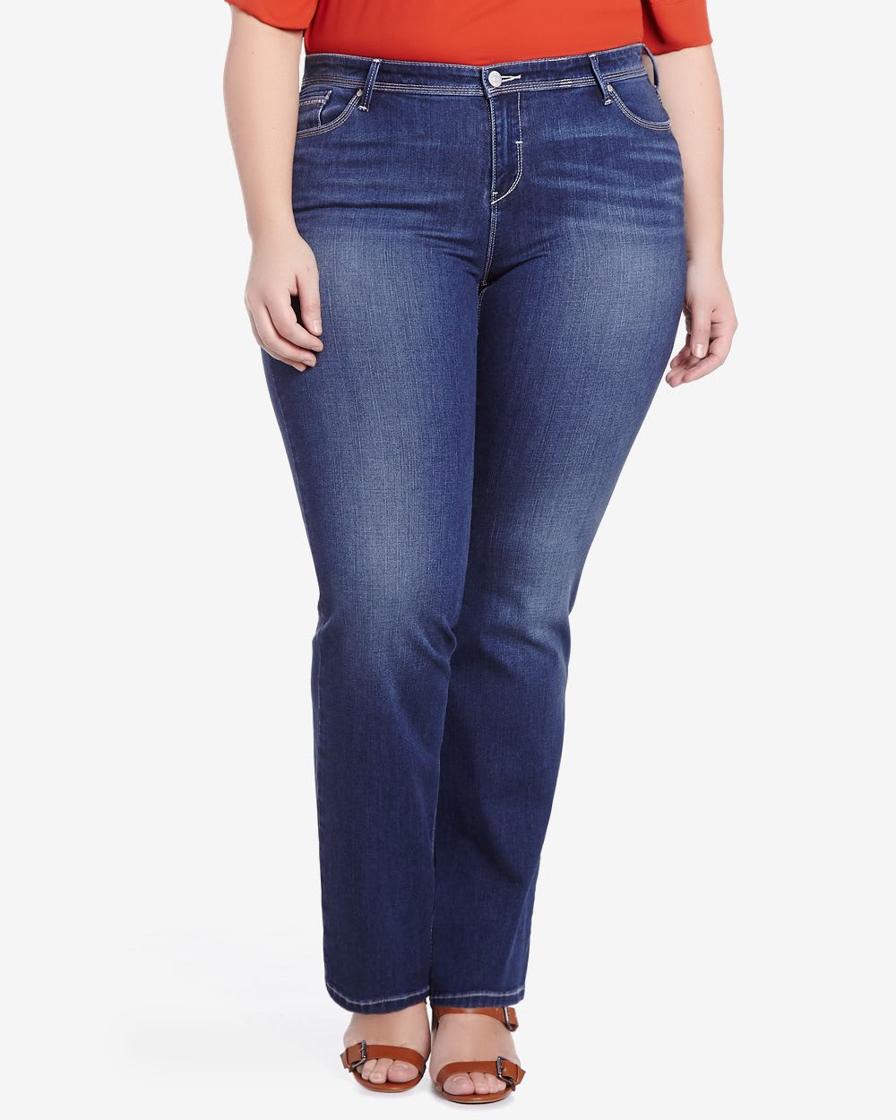 Plus Size Only Denim Slight Boot Cut Jeans | Plus Sizes | Reitmans