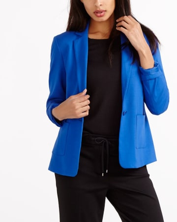 Square Pocket Blazer