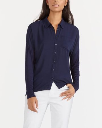 Long Sleeve Blouse