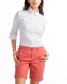 Casual Chino Bermuda Shorts