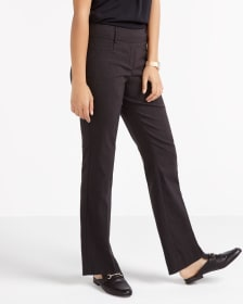 The Petite Iconic Boot Cut Striped Pants