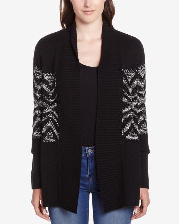 Petite Long Sleeve Open Cardi