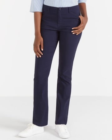 Petite Boot Cut Exact Stretch Pants