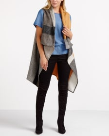 Sleeveless Poncho