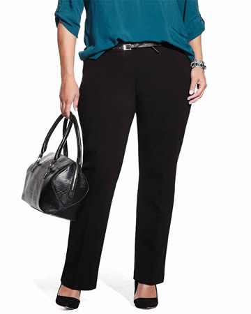 Plus Size Boot Cut Original Comfort Pants