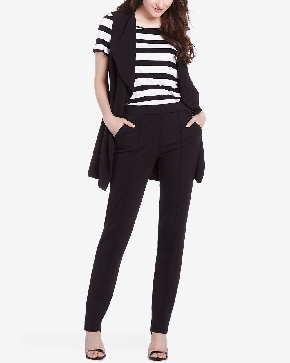 Tall Slim Leg Knit Pants | Tall | Reitmans