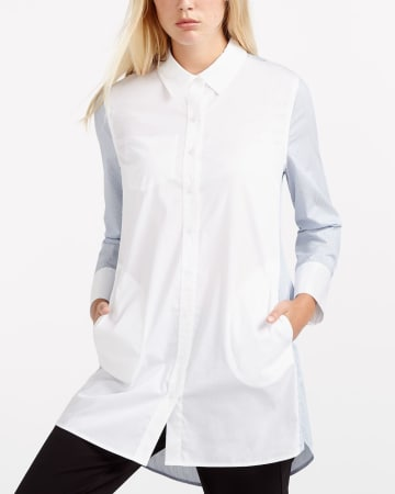 Willow & Thread 2-Tone Poplin Shirt