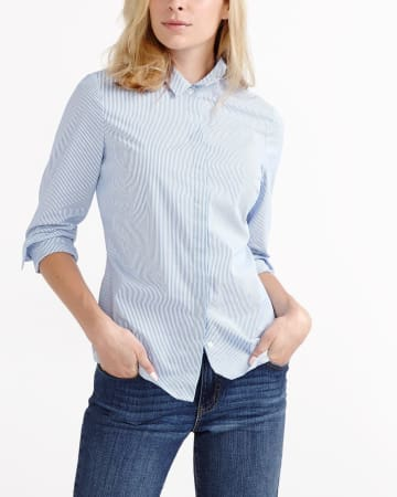 R Essentials Striped Shirt