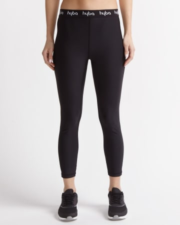 Hyba Solid-Coloured Cropped Legging