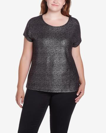 Plus Size Shimmer T-Shirt