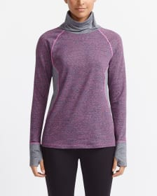 Hyba Space Dye Funnel Neck Pullover