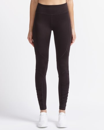 Hyba Solid Shirred Legging