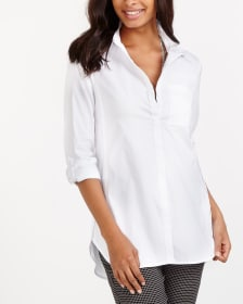 ¾ Sleeve Tunic Shirt