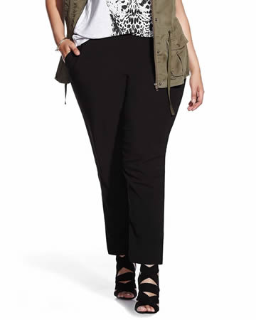 Plus Size Soft Pants