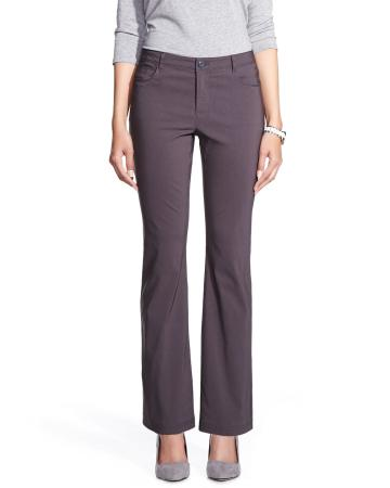 Petite Slight Boot Cut Exact Stretch Pants