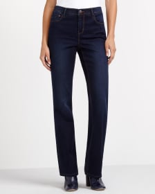 The Ultra Petite Signature Soft Boot Cut Jeans