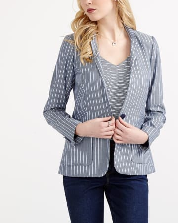 Willow & Thread Striped Blazer