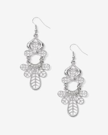Pendants d'oreilles filigrane