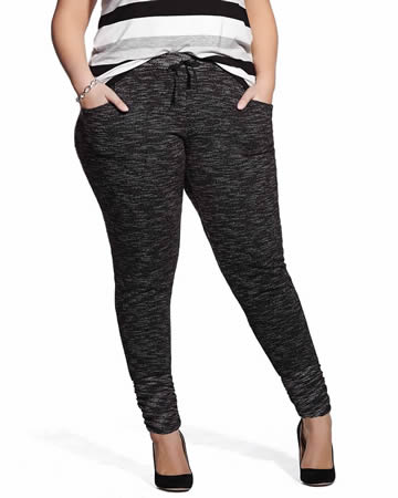 Plus Size Chic Jogger Pants