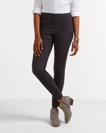 The Modern Stretch Jacquard Pattern Leggings