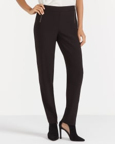 Slim Leg Black Pants