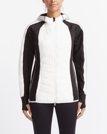 Hyba Hybrid Quilted Running Jacket