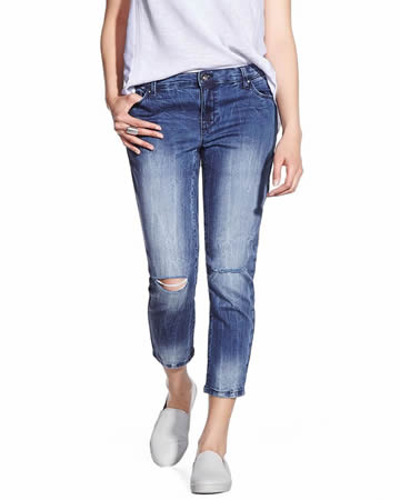 Petite Ankle Skinny Jeans