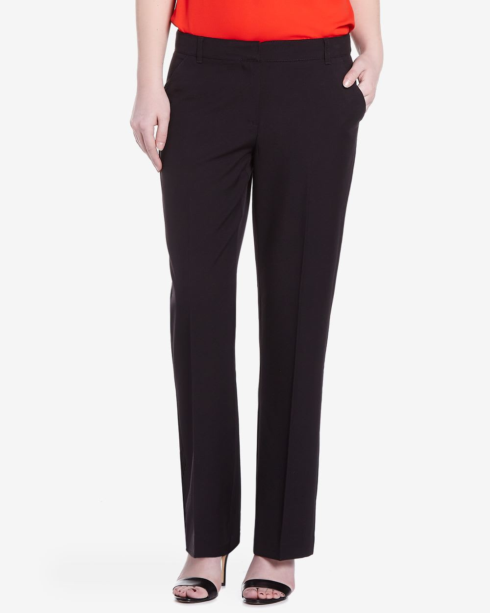 These high-waisted dress pants feature boot-cut design and are great to wear with high heels for a business look. Groupon. Search Groupon Zip Code, Neighborhood, City The perfect pair of slacks! I am 5'3