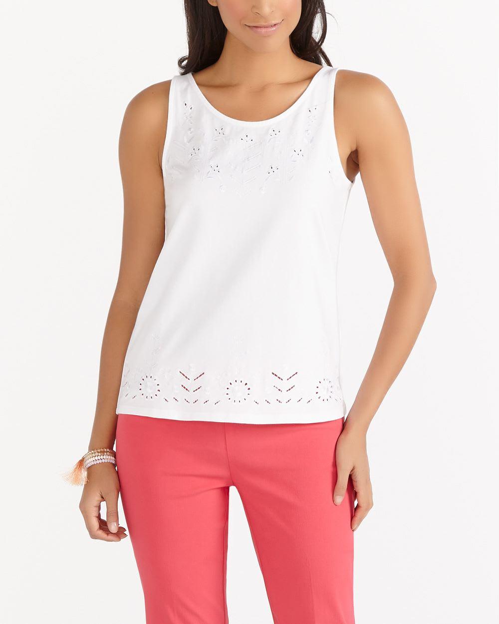 Petite sleeveless t shirt petites reitmans for Petite white tee shirt